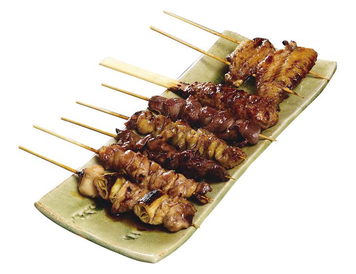 錦爽鶏の焼鳥7本セット